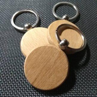 houten sleutelhanger