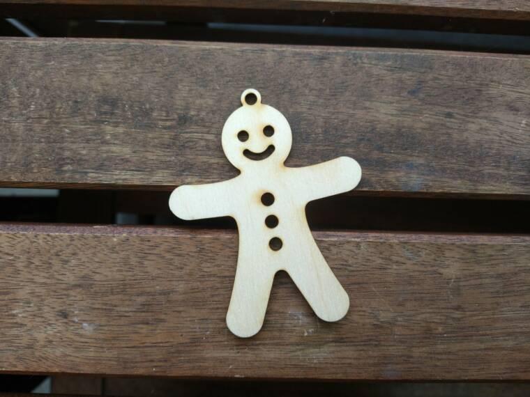 kerstboomfiguur koekjesman