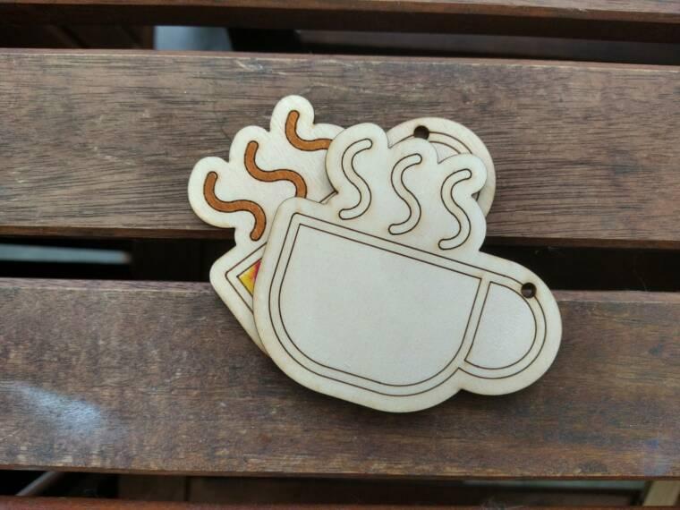 kerstboomfiguur koffiekopje