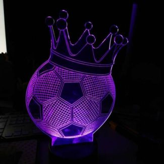 ledlicht voetbal kroon