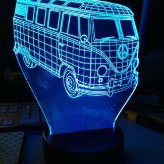 ledlicht VW bus
