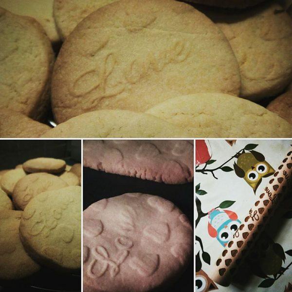 deegroller koekjes met lasercut motief