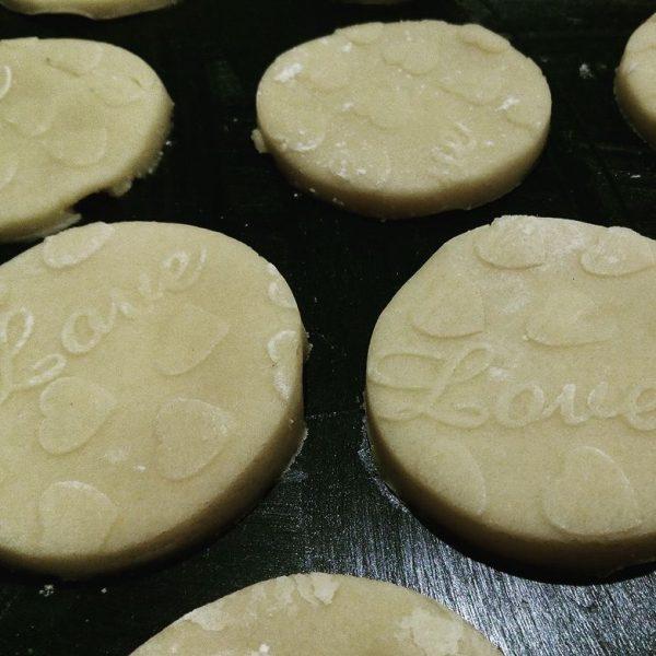 deegroller koekjes met motief