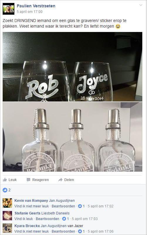 sociale media facebook post