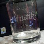 waterglas tekst